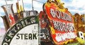 Cocktails Steak chicken Sign | 11